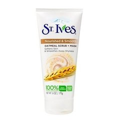 St Ives Nourished & Smooth Oatmeal Scrub & Mask - Esfoliante e Máscara 170g