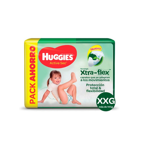 Huggies Active Sec Hiperpack en internet
