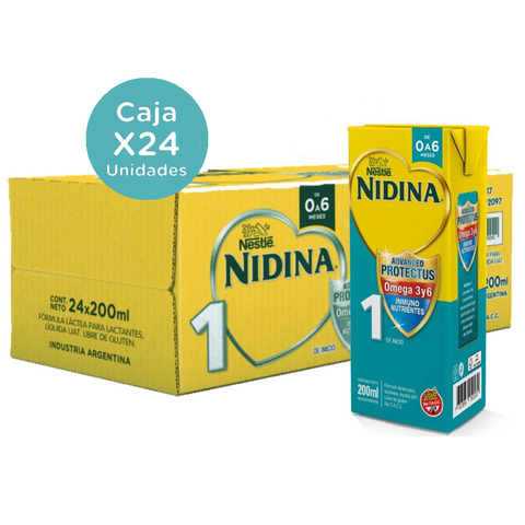 Nidina  1 X200 Ml ( pack x 4u)