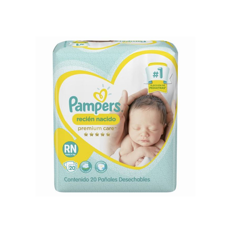 Pampers RN Premium care x20