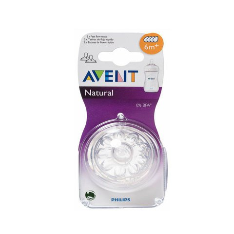 Blister Tetinas Avent Natural x2 en internet