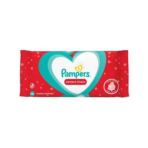 Toallitas Pampers Siempre Limpio x48 Unid