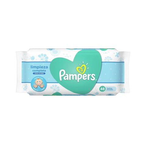 Toall. Pampers Fresh clean x48