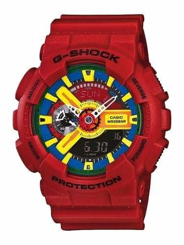 9cb5779487e5 Casio G-shock Rojo Ga110fc1adr - Rosario