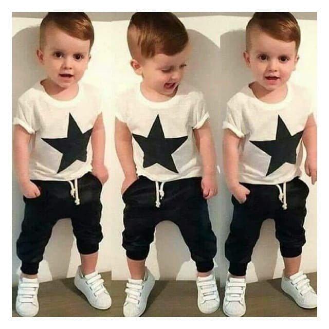 Conjunto Menino Star - Comprar em Tetélo Kids Baby fb14248d233