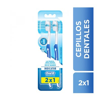 Oral-b Indicator Cepillo Dental X 2 Unidades
