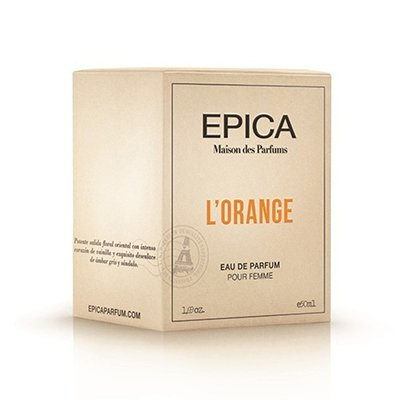 Perfume Mujer Epica L´orange Edp X 50ml