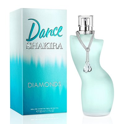 Perfume Mujer Dance Diamonds By Shakira Eau De Toilette 80ml