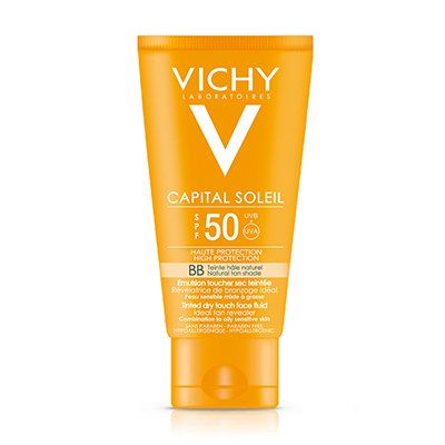 Vichy Ideal Soleil Fps50 Bb Color Toque Seco Pieles Grasas