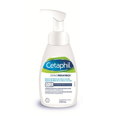 Cetaphil Dermopediatrics Espuma De Baño X 250 Ml No Irrita