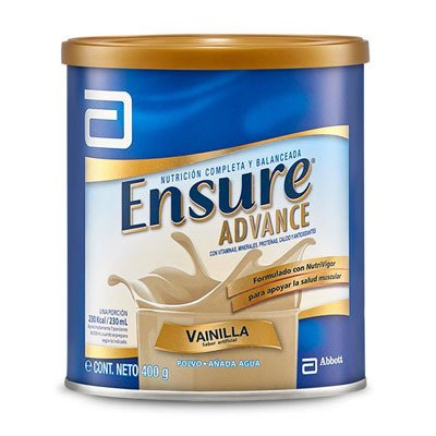Ensure Advance Polvo Lata 400 Grs Vainilla Multivitaminico