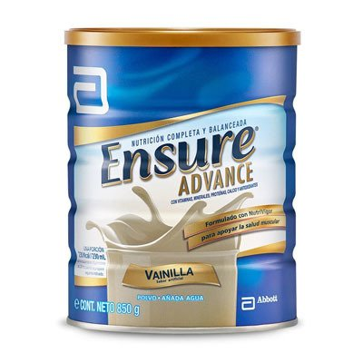 Ensure Advance Polvo X 850g Lata Vainilla
