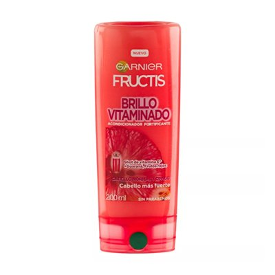 Garnier Fructis Enjuague Brillo Vitaminado X 200ml