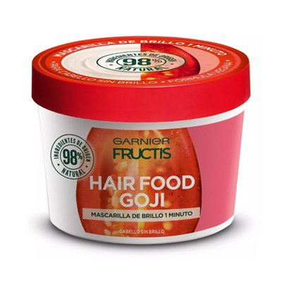 Fructis Hairfood Máscara De Brillo Cabello Opaco 350ml