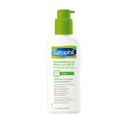 Cetaphil Hidratante Facial Diario Fps 15 118ml