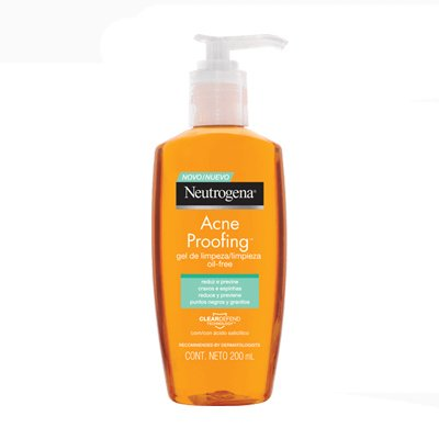 Neutrogena Acne Proofing Gel De Limpieza X 200ml