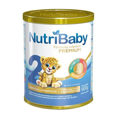 Nutribaby 2 Premium Leche 6 A 12 Meses Lata X 900grs