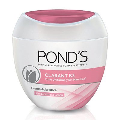 Crema Ponds Clarant B3 Antimanchas Normal Grasa X 100 Gr