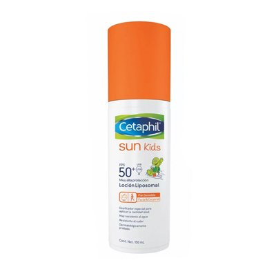 Cetaphil Sun Kids - Locion Facial Corporal Fps 50+ - 150ml