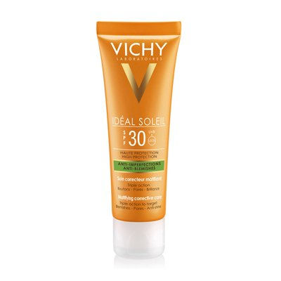 Vichy Ideal Soleil Fps30 Anti Imperfecciones Antiacné 50ml