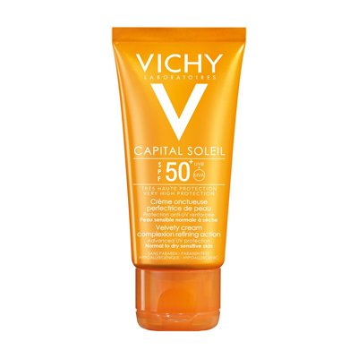 Vichy Ideal Soleil Fps50+ Crema Perfeccionadora Rostro 50ml