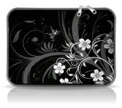 FUNDA Notebook Neoprene Est 20 Flowers