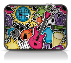 FUNDA Notebook Neoprene Est 24