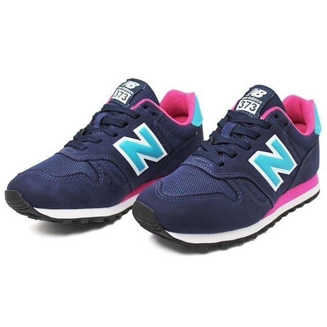 new balance 373 feminino rosa