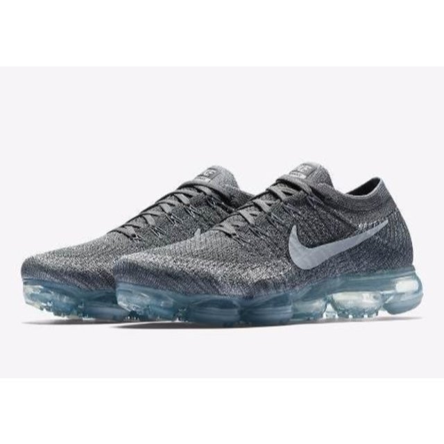 9ecf600ade38 TÊNIS NIKE AIR VAPORMAX FLYKNIT CINZA - LONDRES OUTLET
