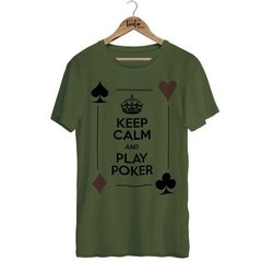Camiseta Keep Calm And Play Poker