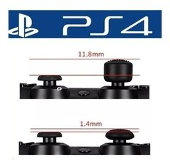 8 Grips Extensor Botão Xbox Ps4 360 Ps3 Controle Playstation 4