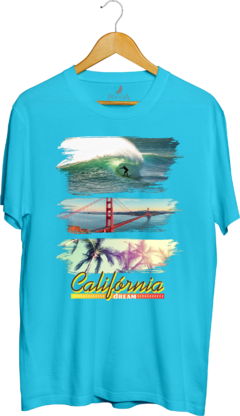 Camisa Estampada California Dream - Vista Foggia, sua loja virtual de moda casual!