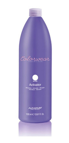 Activador Capilar Revelador Color Wear 1000ml - Alfaparf