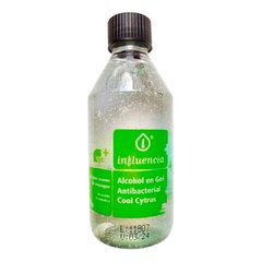 Alcohol En Gel Antibacterial  Cool Citrus 250ml - Marca Influencia