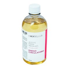 Aceite Para Masajes - Dreno Circulatorio - Biobellus 500ml