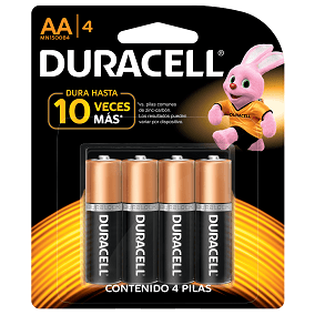 Duracell AA x 4