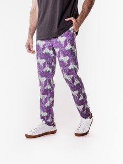 Pant Estampado Be Wild Violeta