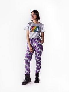 Pant Estampado Be Wild Violeta en internet