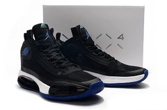 Tênis Air Jordan 34 XXXIV Black Royal Blue-White - loja online