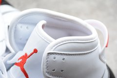 Jordan Mars 270 White Fire Red-Black - comprar online