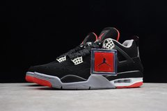 "Tênis Air Jordan 4 Retro ""Bred"" na internet"