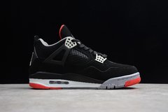 "Tênis Air Jordan 4 Retro ""Bred"" - Rocha Madrid Sports"