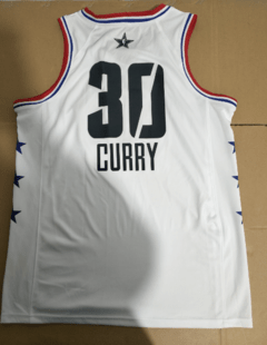 Imagem do Camisa All Star Game 2019 Branca NBA Basquete Swingman
