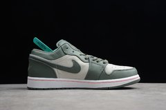 Tênis Air Jordan 1 Low Military Green