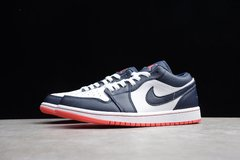 Tênis Air Jordan 1 Low ObsidianEmber na internet