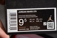 Jordan Mars 270 White Rush Red-Hyper Royal na internet