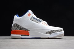 Tênis Air Jordan 3 Retro Knicks na internet