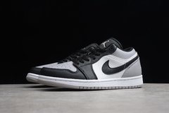 Tênis Air Jordan 1 Low White Atmosphere-Black - comprar online