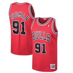 Camisa Chicago Bulls Rodman #91 Nba Mitchell & Ness Basquete
