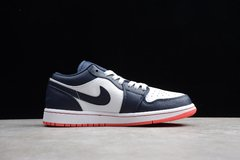 Tênis Air Jordan 1 Low ObsidianEmber - Rocha Madrid Sports